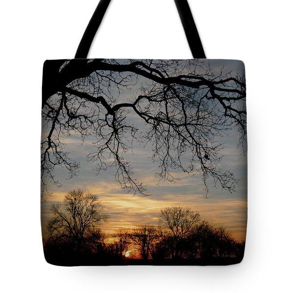 Evening Fades Away Tote Bag