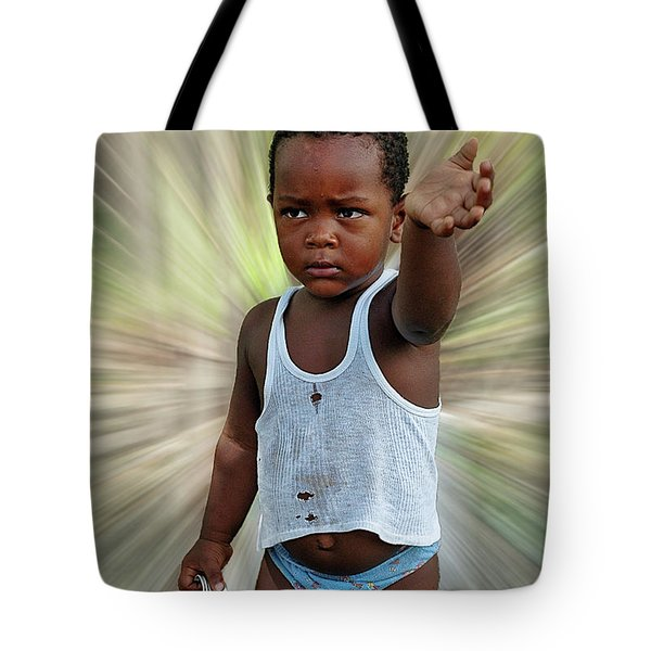 Tote Bag featuring the photograph Faces Of The Dominican Republic by Bernd Laeschke