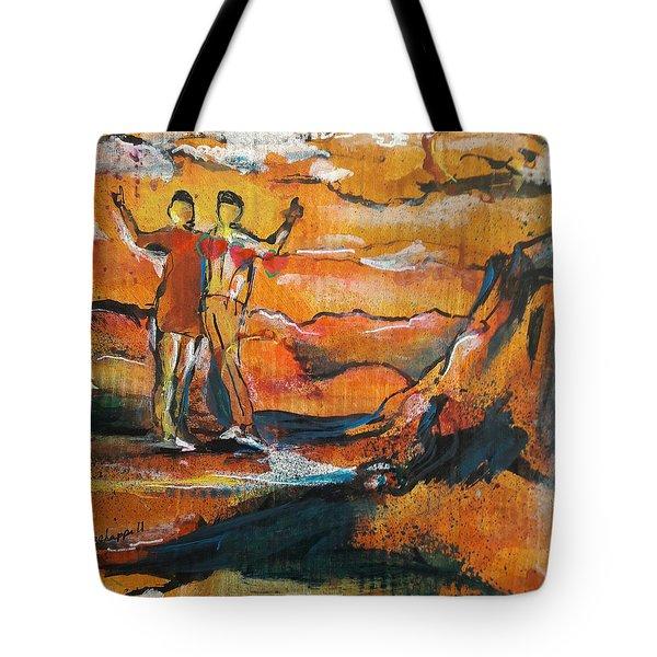 Feel The Warm Tote Bag