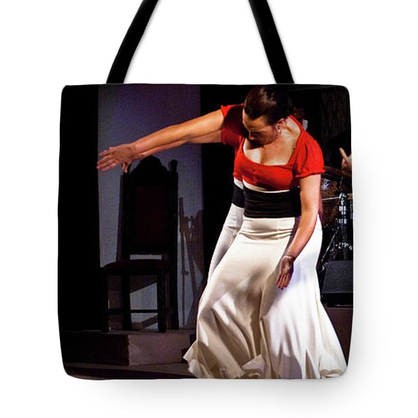 Tote Bag featuring the photograph Flamenco 39 by Catherine Sobredo