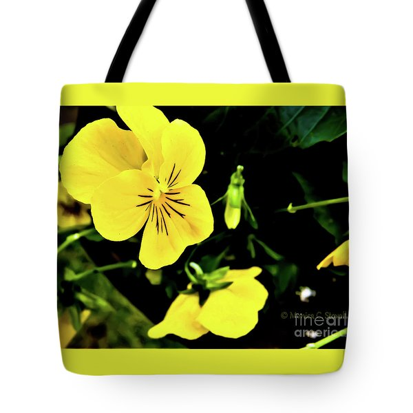 Flowers Hanging No. Hgf17 Tote Bag