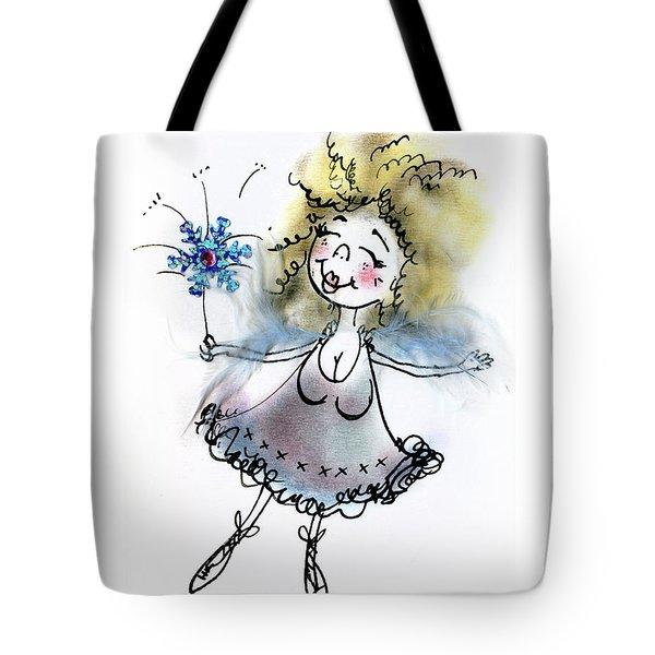 Fluffy Blue Fairy Tote Bag