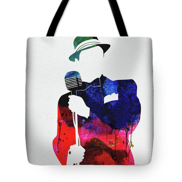 Frank Watercolor Tote Bag