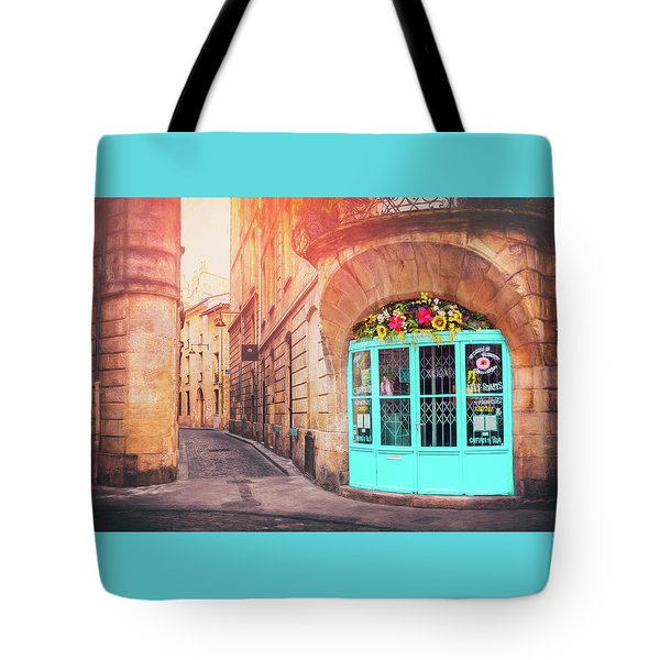French Cafe Bordeaux France  Tote Bag