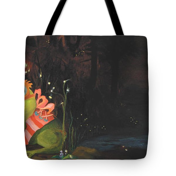 Frogs Of Silver Lake Tote Bag