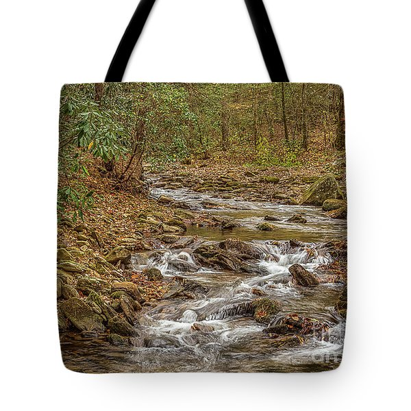 Tote Bag featuring the photograph Frogtown Creek by Bernd Laeschke