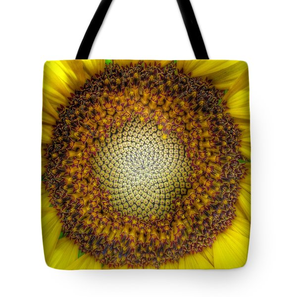 Ghost Sunflower Tote Bag