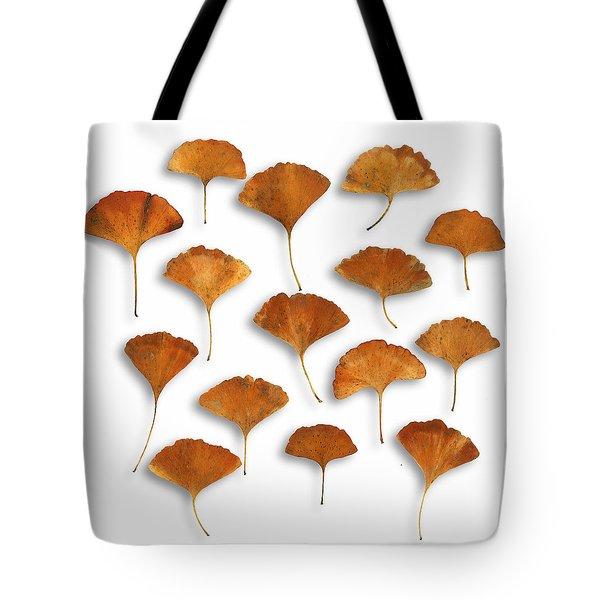 Gingkos Fall Tote Bag