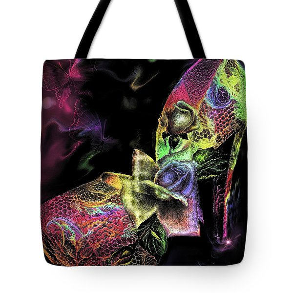Glamorous Heels Tote Bag