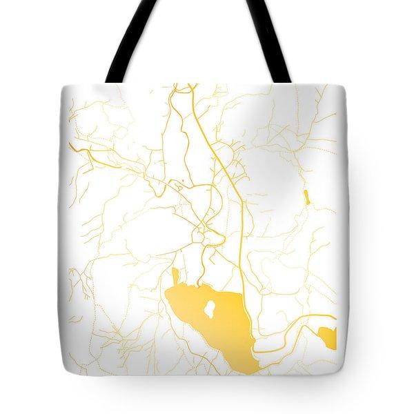 Grasmere Map Tote Bag