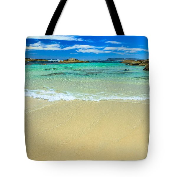 Tote Bag featuring the photograph Greens Pool Australia by Benny Marty