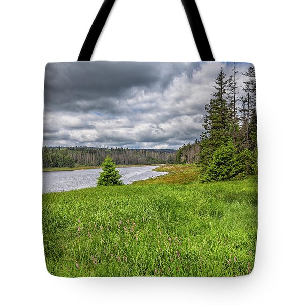 Tote Bag featuring the photograph The Harz National Park by Bernd Laeschke