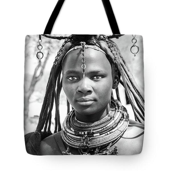 Himba Girl Tote Bag