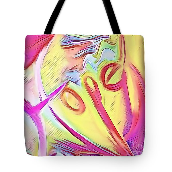 Tote Bag featuring the mixed media Hope by Jessica Eli
