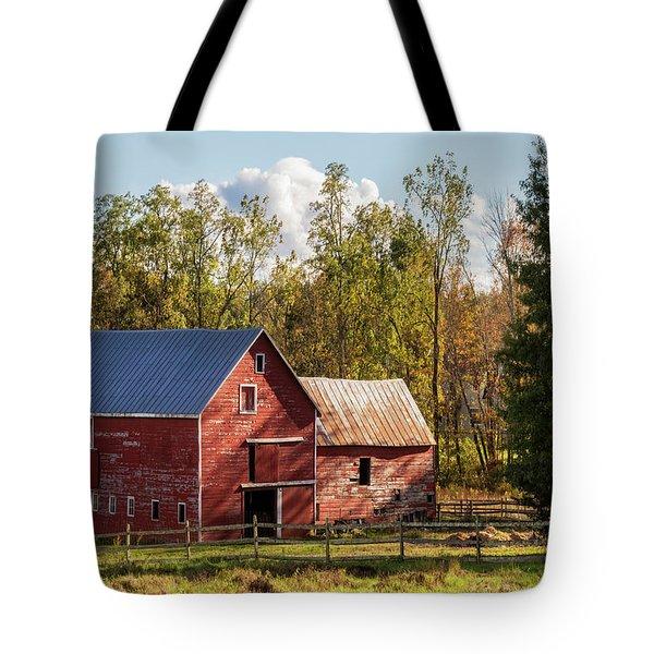 Hudson Valley Ny Countryside Tote Bag