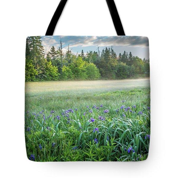 Iris Meadow 2 Tote Bag