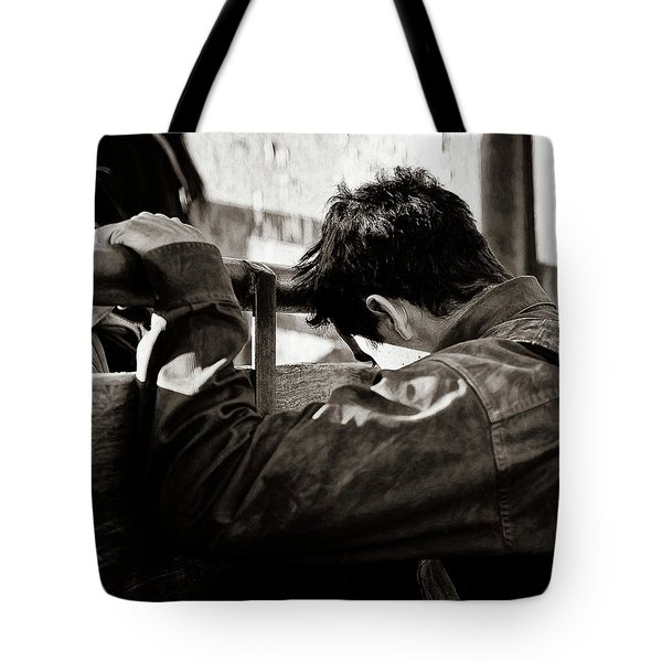 Its The Joy And The Pain Tote Bag