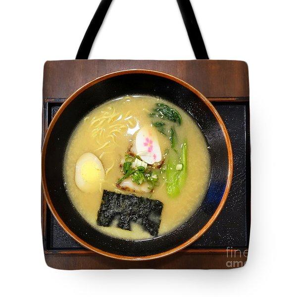 Japanese Miso Noodle Soup Tote Bag