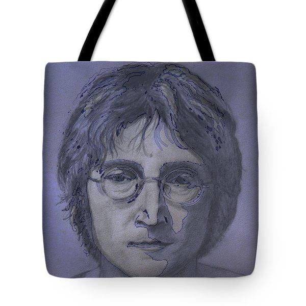 John Lennon Re-imagined Tote Bag