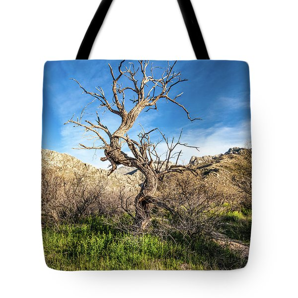 Tote Bag featuring the photograph Juniper Requiem by Lon Dittrick