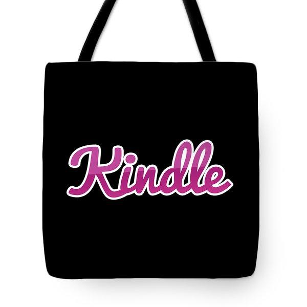 Kindle #kindle Tote Bag