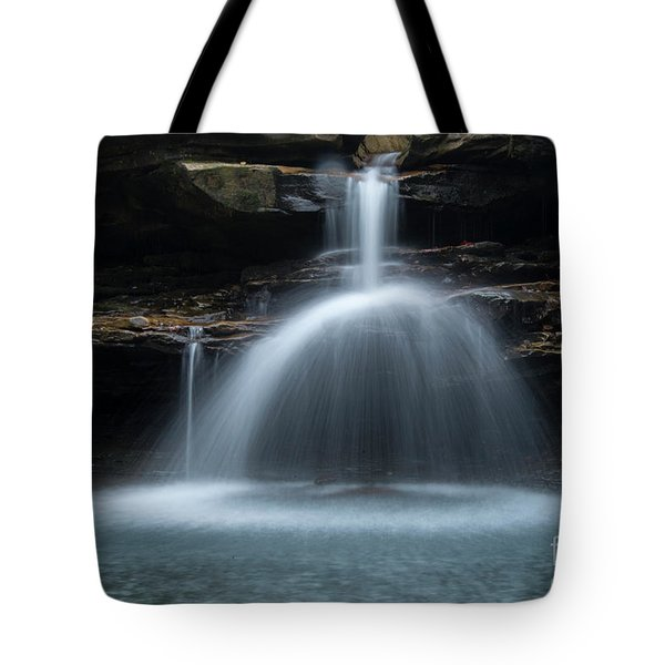 Tote Bag featuring the photograph Kings River Falls by Joe Sparks