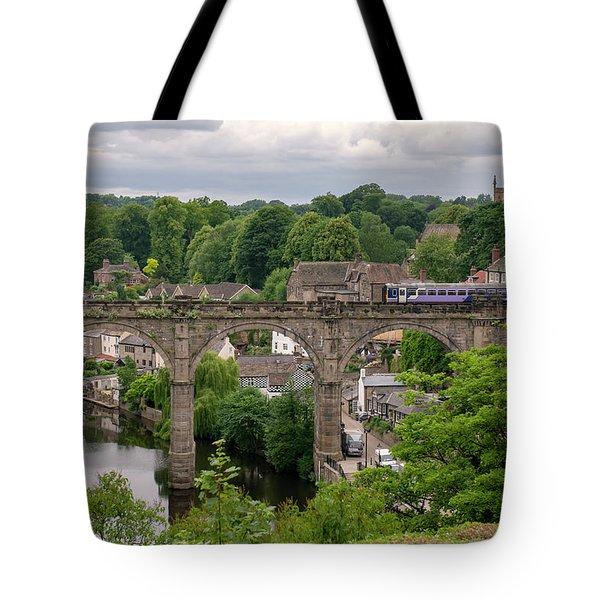 Knaresborough Viaduct  Tote Bag