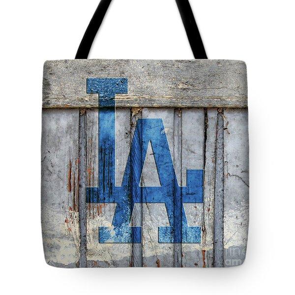 La Dodgers Tote Bag