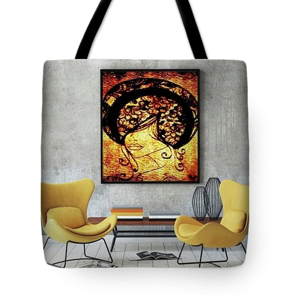 Lady Mystery Tote Bag