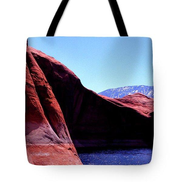 Lake Powell And Navajo Mountain Tote Bag