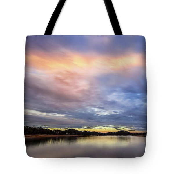 Tote Bag featuring the photograph Lake Sidney Lanier by Bernd Laeschke