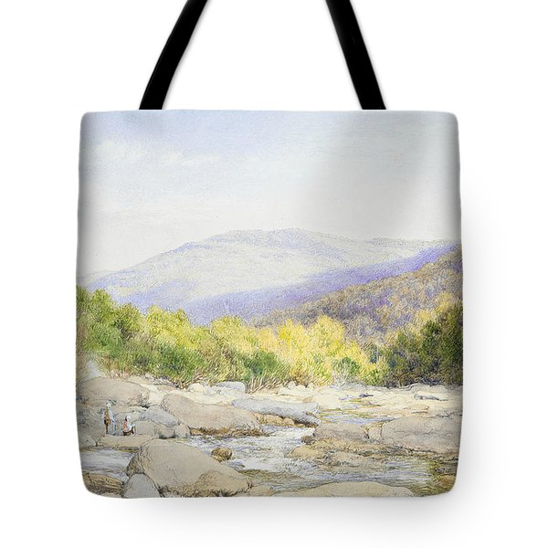 Landscape - View On Catskill Creek Tote Bag