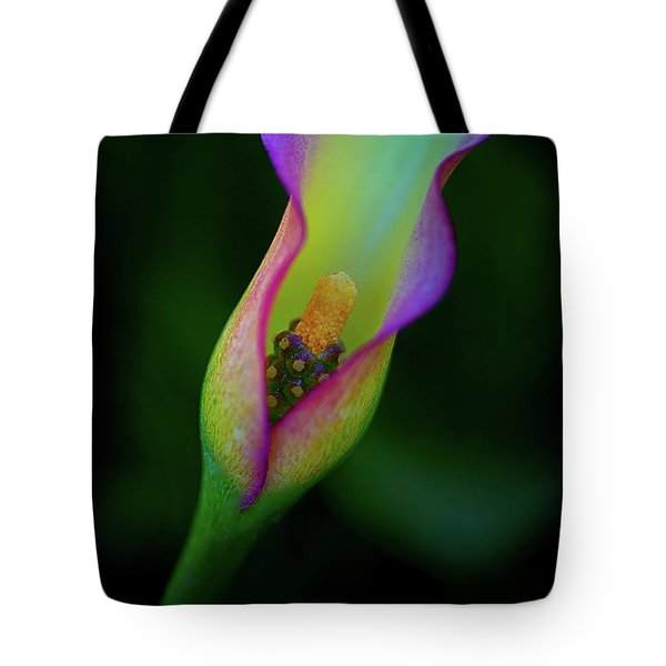 Tote Bag featuring the photograph Lily  by John Rodrigues