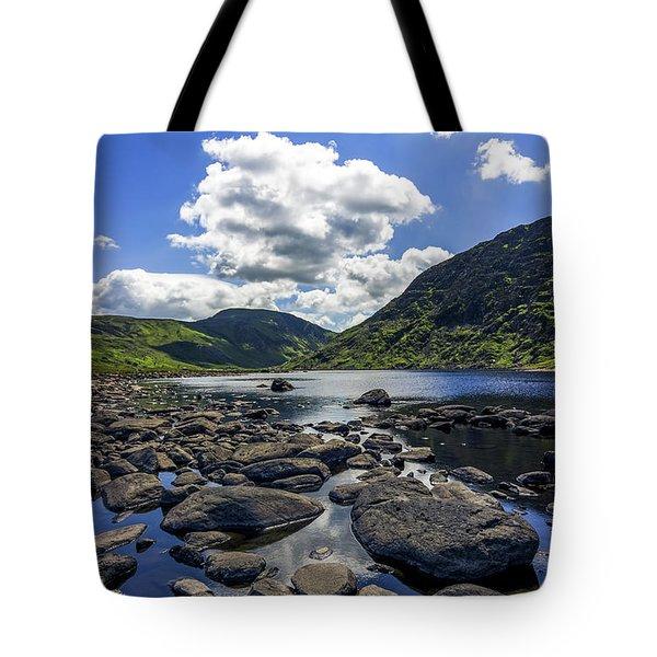 Llyn Eigiau Tote Bag