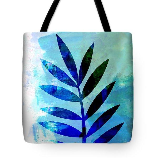 Lonely Leaf Watercolor II Tote Bag