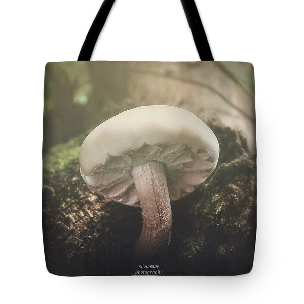 Look At The Mushroom Tote Bag