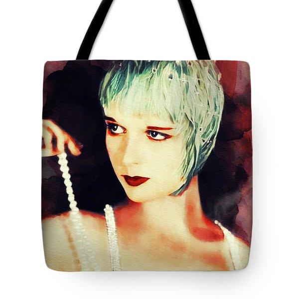 Louise Brooks, Vintage Actress Tote Bag