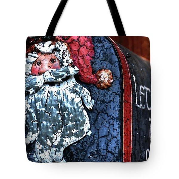 Tote Bag featuring the photograph Mail To Santa 20534 by Jerry Sodorff