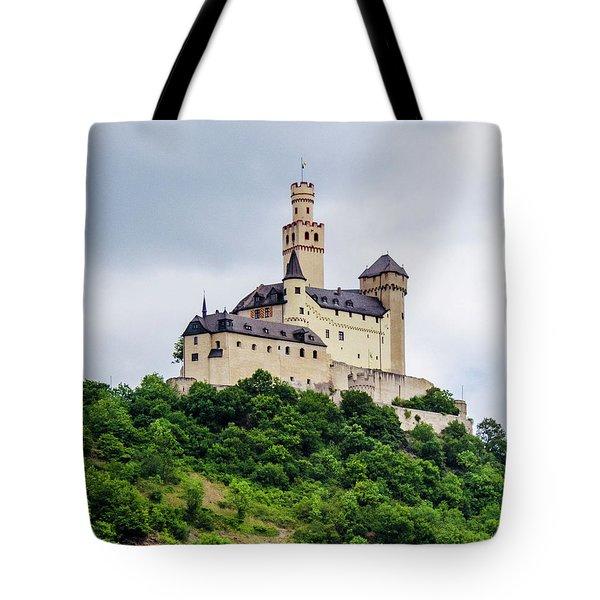 Marksburg Castle - 2 Tote Bag