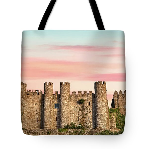 Tote Bag featuring the photograph Medieval Castle Of Obidos by David Letts