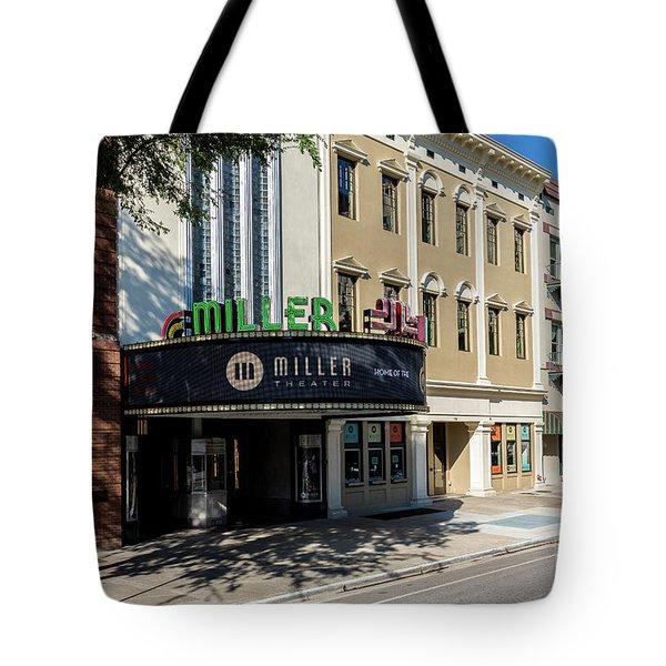 Miller Theater Augusta Ga Tote Bag