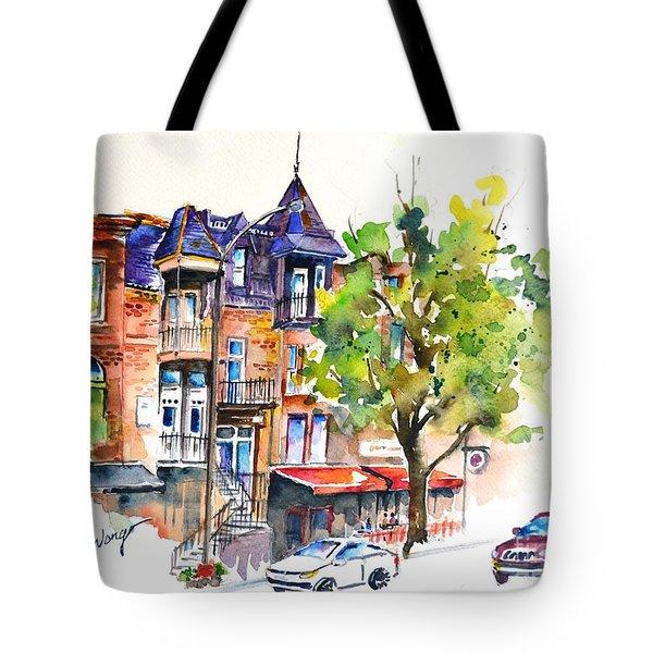 Montreal #2 Tote Bag