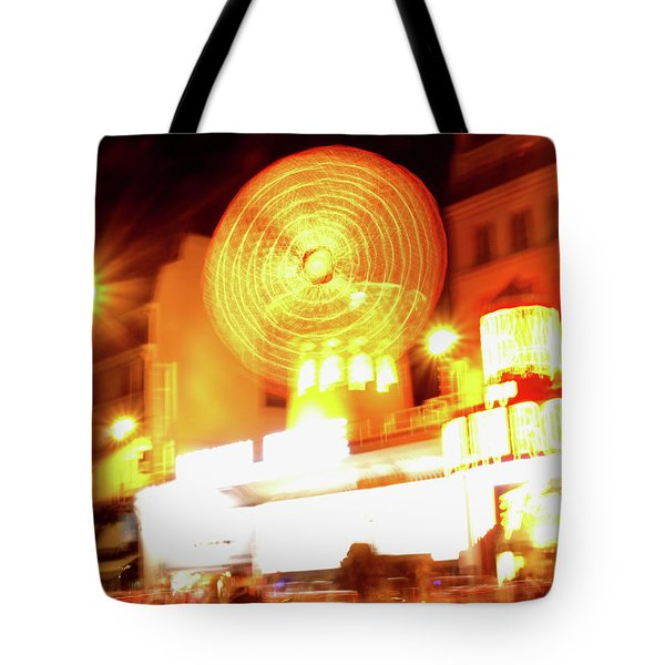 Moulin Rouge Tote Bag