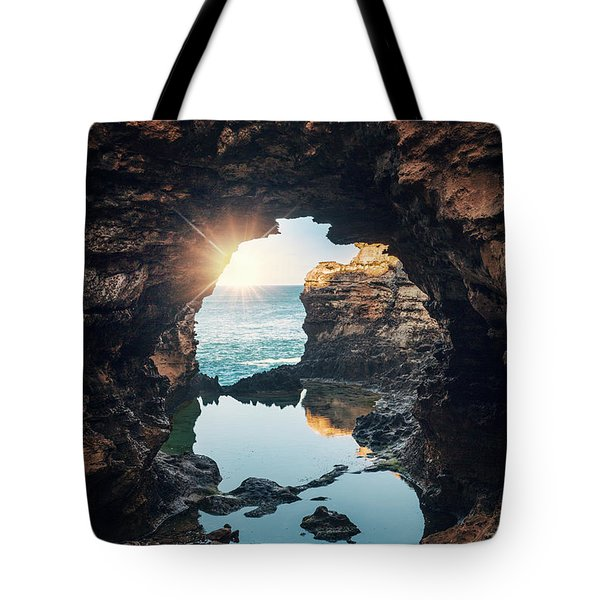 Mystery Awakens Tote Bag
