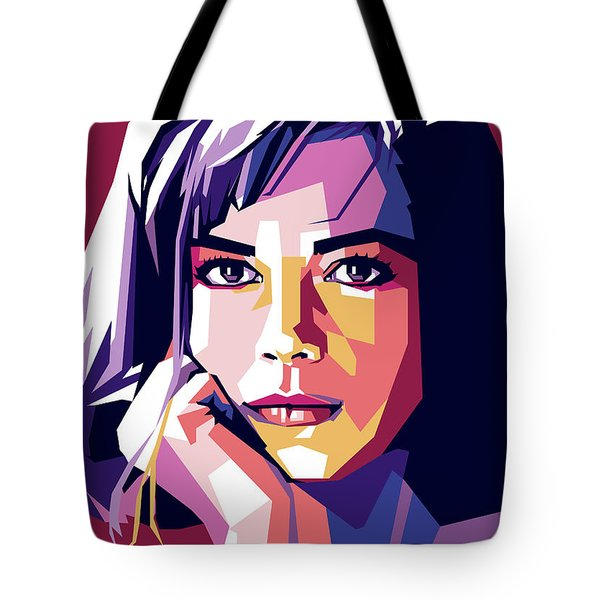 Natalie Wood Tote Bag