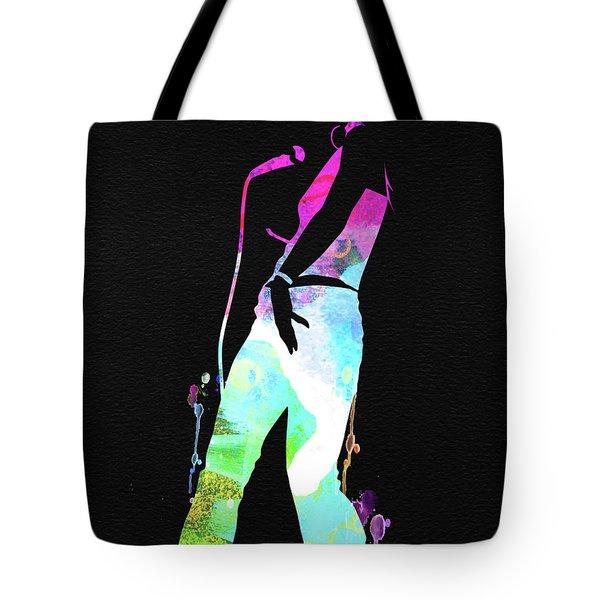 Nelly Furtado Watercolor Tote Bag