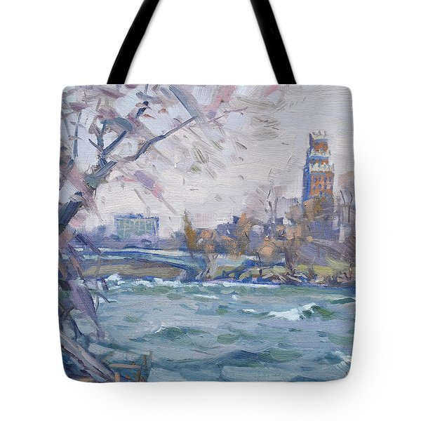 Niagara River Tote Bag