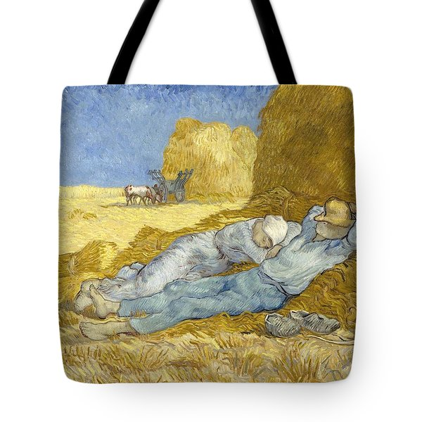 Noon - Rest From Work Tote Bag