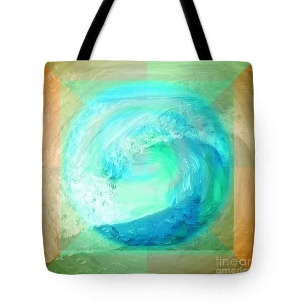 Ocean Earth Tote Bag