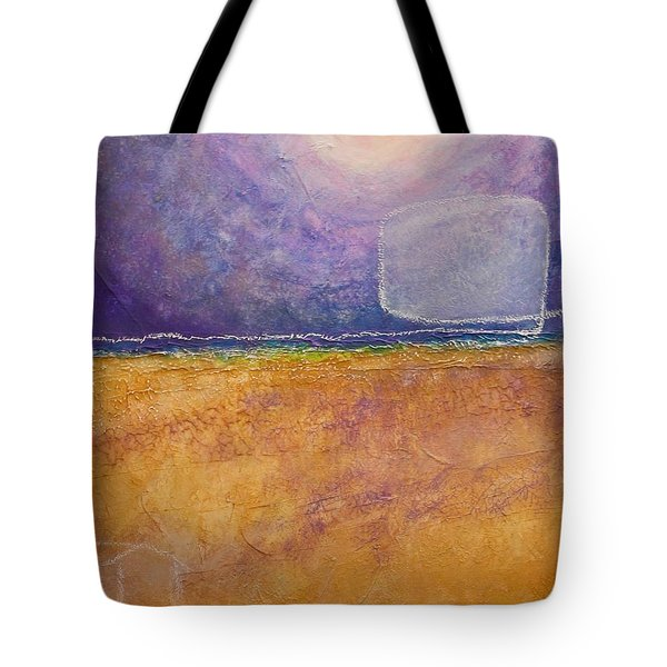 Tote Bag featuring the painting Old Home Fall by Kim Nelson